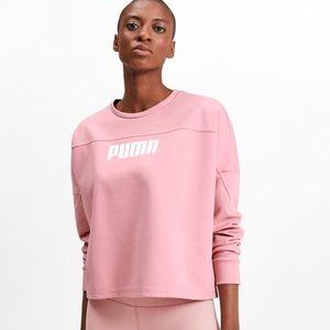 PUMA Women's NU-TILITY Cropped Crew Sweat